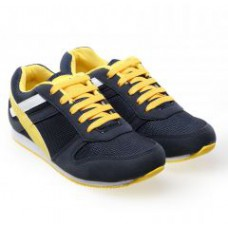 Deals, Discounts & Offers on Foot Wear - Catbird Blue And Yellow Sports Shoes