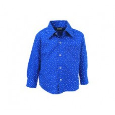 Deals, Discounts & Offers on Kid's Clothing - Blue Regular Fit Casual Shirt