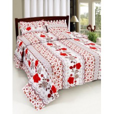 Deals, Discounts & Offers on Home Appliances - Flat Rs. 399 + Extra 25% off on Home Castle Double Bedsheets