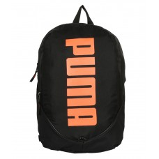 Deals, Discounts & Offers on Stationery - Puma Pioneer Black and Orange Unisex Backpack