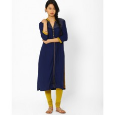 Deals, Discounts & Offers on Women Clothing - Kurta With Front Slit
