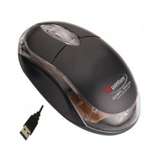 Deals, Discounts & Offers on Computers & Peripherals - Quantum Qhm222 Usb Mouse Black