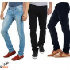 Deals, Discounts & Offers on Men Clothing - Stylox Branded Denim Pack of 3