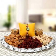 Deals, Discounts & Offers on Home Decor & Festive Needs - Get flat 15% off on Rakhi Pooja Thali