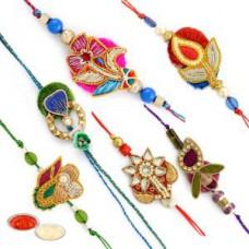 Deals, Discounts & Offers on Home Decor & Festive Needs - Designer Rakhi Set