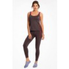 "Deals, Discounts & Offers on Women Clothing - Prettysecrets Charcoal Grey ""Energise"" Workout Leggings & Tank Set offer"