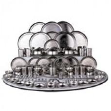 Deals, Discounts & Offers on Home & Kitchen - Ramson 124Pcs Premium SS Dinner Set