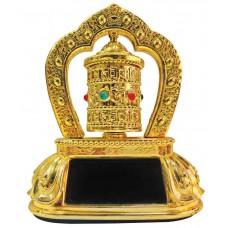 Deals, Discounts & Offers on Car & Bike Accessories - Feng Shui Revolving/Rotating Solar Mani Lotus Prayer Tibetan Buddhist Wheel Ornament For Car Dasboard