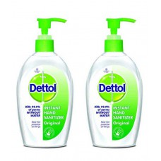 Deals, Discounts & Offers on Health & Personal Care - Dettol Original Instant Hand Sanitizer 200 ml pack of 2