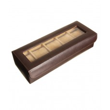 Deals, Discounts & Offers on Accessories - Essart PU Leather Watch Box for 5 watches