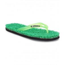 Deals, Discounts & Offers on Foot Wear - Footista Green Flip Flops offer