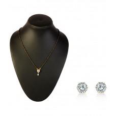 Deals, Discounts & Offers on Women - Payal Fashion White German Silver Mangalsutra Set