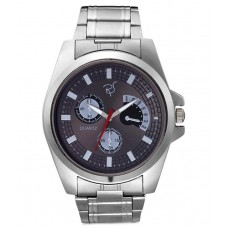 Deals, Discounts & Offers on Men - Rico Sordi Silver Metal Analog Watch