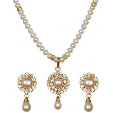 Deals, Discounts & Offers on Women - Classique Designer Jewellery Mother of Pearl Jewel Set