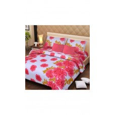 Deals, Discounts & Offers on Home Decor & Festive Needs - Handloomdaddy cotton double bed sheet with 2 pillow covers