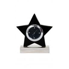 Deals, Discounts & Offers on Home Decor & Festive Needs - Flat 60% off on Tiamo Black Star Table Clock