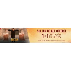 Deals, Discounts & Offers on Entertainment - 1+1 on Movie Tickets