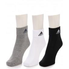 Deals, Discounts & Offers on Men - Adidas Men's Flat Knit - Quarter turn around welt Socks - 3 pair pack
