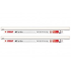 Deals, Discounts & Offers on Electronics - Eveready 18W LED Tube Lights Cool Day Light - Pack of 2