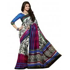 Deals, Discounts & Offers on Women Clothing - DivyaEmporio  Bhagalpuri Art Silk Saree