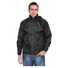 Deals, Discounts & Offers on Men - Fashmak Black Rain Jacket