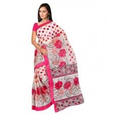 Deals, Discounts & Offers on Women Clothing - SVB Sarees Beige Art Silk Saree