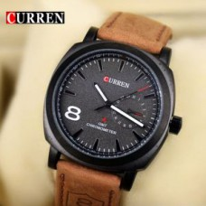 Deals, Discounts & Offers on Men - New Stylish And Sober Leather Watch