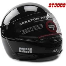 Deals, Discounts & Offers on Car & Bike Accessories - Studds Ninja Pastel Plain Motorsports Helmet