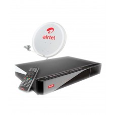 Deals, Discounts & Offers on Televisions - Airtel Digital TV SD Set Top Box With 1 Month Mega Pack