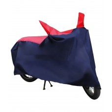 Deals, Discounts & Offers on Car & Bike Accessories - HMS Bike Body Cover - Red & Navy Blue- For All Scooties and Bikes Upto 150cc