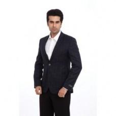 Deals, Discounts & Offers on Men Clothing - Park Avenue Dark Blue Business Jacket PMJS00762-B8