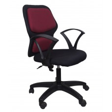 Deals, Discounts & Offers on Furniture - Star Office Chair in Maroon