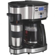 Deals, Discounts & Offers on Home & Kitchen - HAMILTON BEACH 49980-IN 2-WAY BREWER