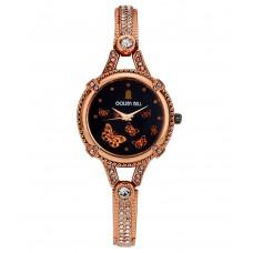 Deals, Discounts & Offers on Women - Golden Bell Golden Bracelet Wrist Watch For Women