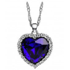 Deals, Discounts & Offers on Women - WomanWa Heart of the Ocean Crystal diamond Pendant