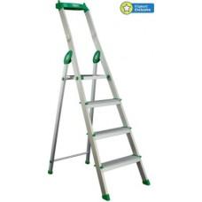 Deals, Discounts & Offers on Home Improvement - Bathla Eco 3 Step Aluminium Ladder