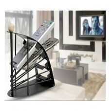 Deals, Discounts & Offers on Home Appliances - Kawachi Black Metal Remote Control Organizer