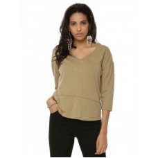 Deals, Discounts & Offers on Women Clothing - KOOVS Curved Hem Boxy Top