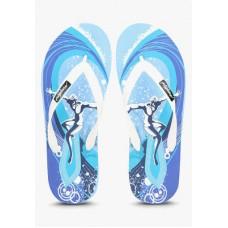 Deals, Discounts & Offers on Foot Wear - FREETOES SURFER BLUE FLIP FLOPS
