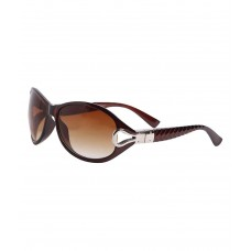 Deals, Discounts & Offers on Women - HH CLASICBRWN Brown Oval Sunglasses For Women