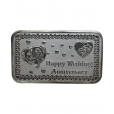 Deals, Discounts & Offers on Accessories - Kataria Jewellers Wedding Anniversary Gift 10 Grams Silver Coin in 999 Purity Hallmarked Silver