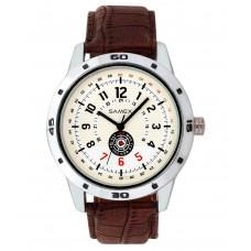 Deals, Discounts & Offers on Men - Samex White Analog Round Formal Watch