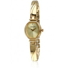 Deals, Discounts & Offers on Women - SONATA 8111YM01 GOLD\/CHAMPAGNE ANALOG WATCH