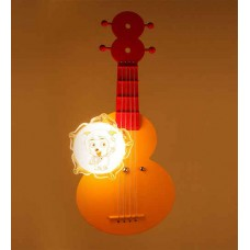 Deals, Discounts & Offers on Home Appliances - Aesthetics Home Solution Guitar White Glass Kids Lighting