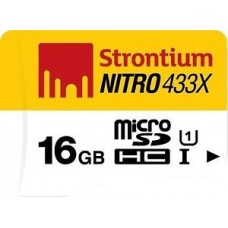 Deals, Discounts & Offers on Mobile Accessories - Strontium Nitro 16 GB MicroSDHC Class 10 65 MB/s Memory Card