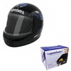 Deals, Discounts & Offers on Car & Bike Accessories - Speedwav Helmet Blue Star