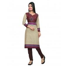 Deals, Discounts & Offers on Women - Nakoda Creation Cotton Unstitched Kurti Dress Material