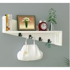 Deals, Discounts & Offers on Home Decor & Festive Needs - Decorhand Wooden Wall Shelf