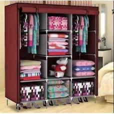 Deals, Discounts & Offers on Furniture - FOLDING WARDROBE CUPBOARD ALMIRAH