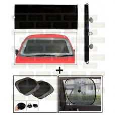 Deals, Discounts & Offers on Car & Bike Accessories - Chipkoo Black (4) & Front Roller Sunshade Black